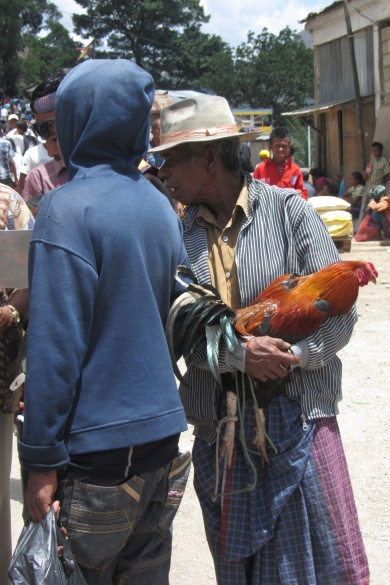 At the market in the center of Maubisse.