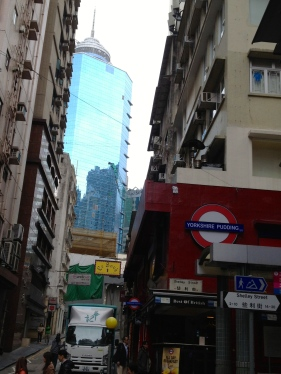The Soho district still retains the charm of 80s HongKong.